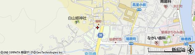 フラワー岸田周辺の地図