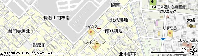 福島県郡山市大槻町(池上西)周辺の地図