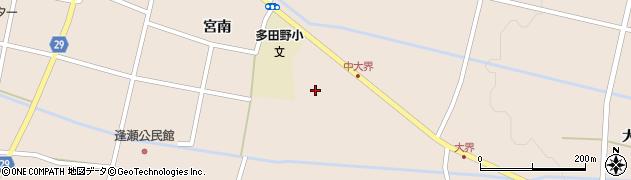 福島県郡山市逢瀬町多田野周辺の地図