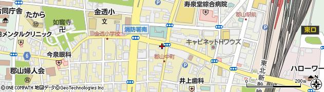 有限会社モードサロンブーケ周辺の地図