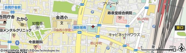 株式会社新城商店周辺の地図
