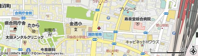 塩野義製薬株式会社 郡山分室周辺の地図