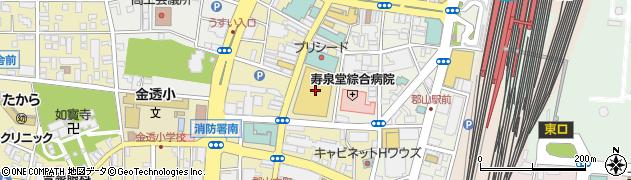 ジュンク堂書店 郡山店周辺の地図