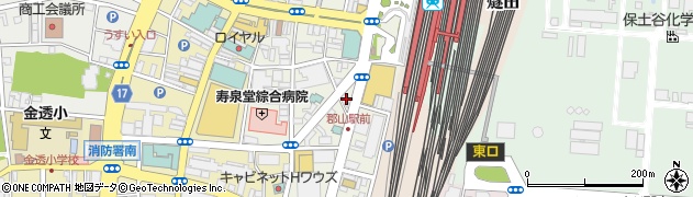 KOIZUMI 郡山駅前店周辺の地図