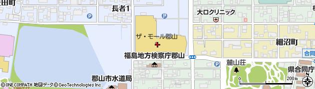 カラフルネイルサロン・ザ・モール郡山店周辺の地図