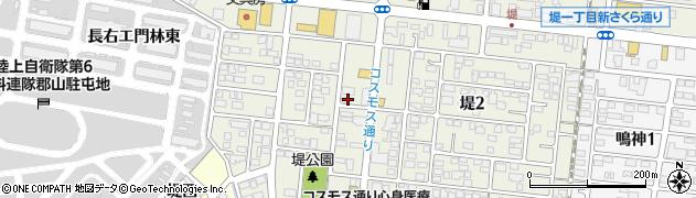 福島県郡山市大槻町(堤)周辺の地図