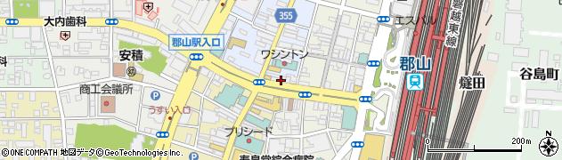 NOVA‐ITTO福島郡山駅前校周辺の地図