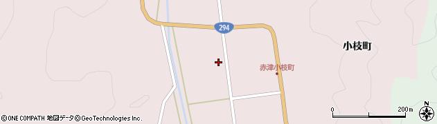 福島県郡山市湖南町赤津(外城)周辺の地図