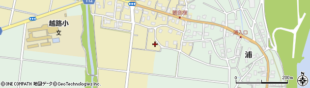 新潟県長岡市神谷周辺の地図