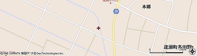福島県郡山市逢瀬町多田野(西久保)周辺の地図