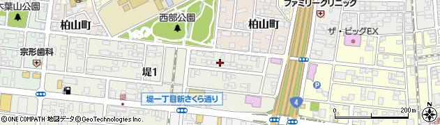 ユニークデンタル周辺の地図