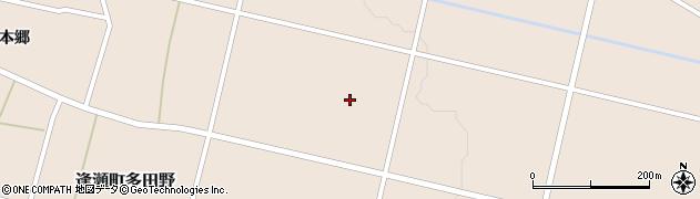 福島県郡山市逢瀬町多田野(中田)周辺の地図