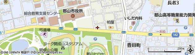 福島県家庭教師協会 郡山事務局周辺の地図
