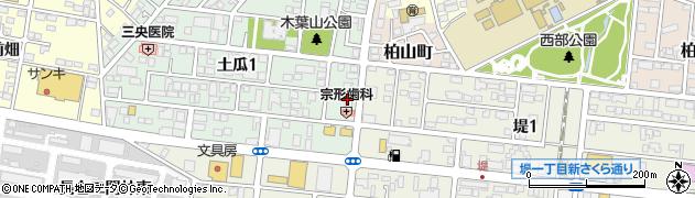 Lamie・NailSalon周辺の地図