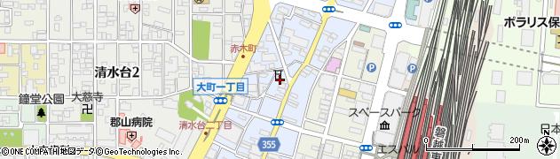 株式会社上石総合卸周辺の地図