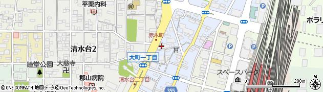 WDB株式会社 郡山支店周辺の地図