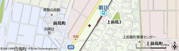 新潟県長岡市上前島周辺の地図