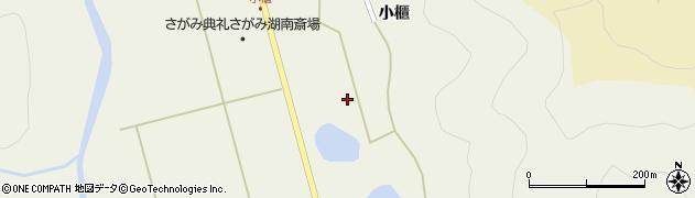 福島県郡山市湖南町舟津(小櫃西)周辺の地図