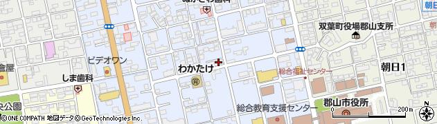 トランコムSC株式会社 郡山営業所周辺の地図