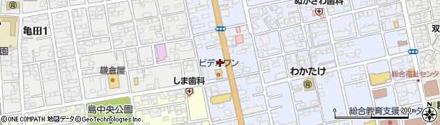ほぐしやさん 桑野店周辺の地図