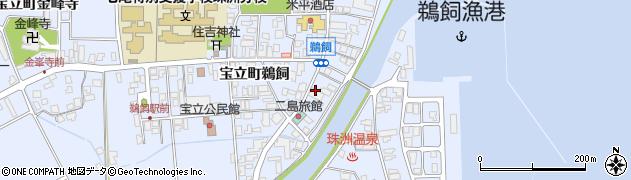 宝湯周辺の地図