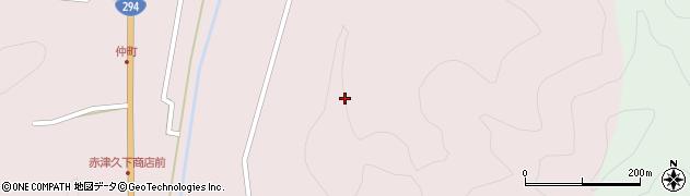 福島県郡山市湖南町赤津(熊ノ山)周辺の地図