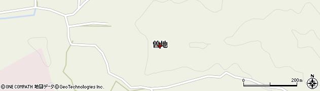 新潟県柏崎市曽地周辺の地図