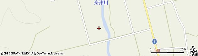 福島県郡山市湖南町舟津(前田川原)周辺の地図