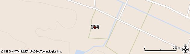 福島県郡山市逢瀬町多田野(別所)周辺の地図