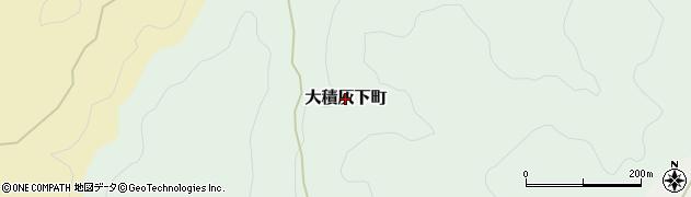 新潟県長岡市大積灰下町周辺の地図
