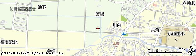 福島県郡山市片平町(南山)周辺の地図