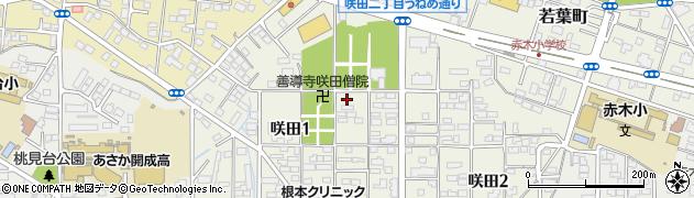 如宝寺周辺の地図