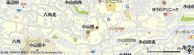福島県郡山市大槻町(小山田)周辺の地図