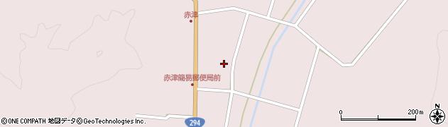 福島県郡山市湖南町赤津(北町浦)周辺の地図