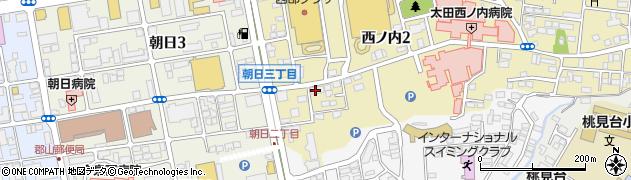 京進スクール・ワン 郡山西ノ内教室周辺の地図