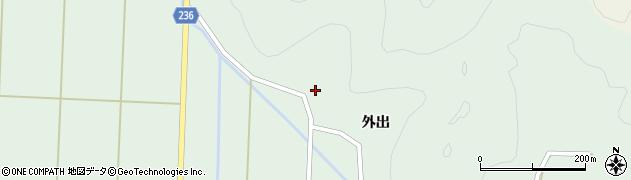福島県郡山市湖南町福良(境)周辺の地図