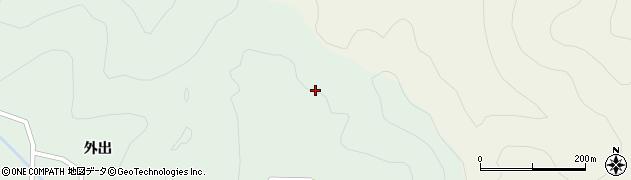 福島県郡山市湖南町福良(畑ケ入)周辺の地図