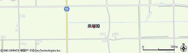 福島県郡山市片平町(庚坦原)周辺の地図