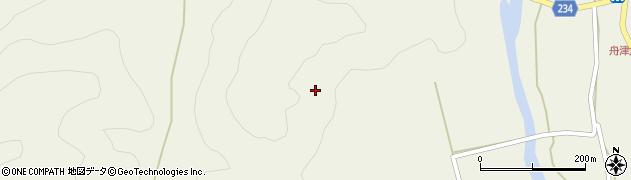 福島県郡山市湖南町舟津(袴越)周辺の地図