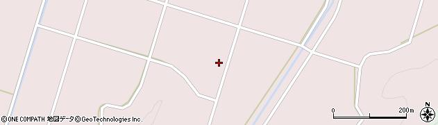 福島県郡山市湖南町赤津(舘ノ下)周辺の地図