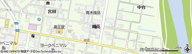 福島県郡山市富久山町久保田(郷花)周辺の地図
