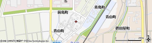 新潟県長岡市青山町周辺の地図