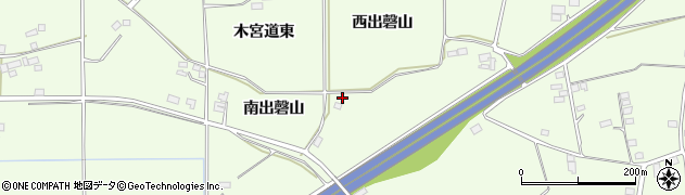 福島県郡山市片平町(西出磬山)周辺の地図