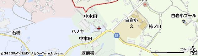 福島県郡山市阿久津町(ハノキ)周辺の地図