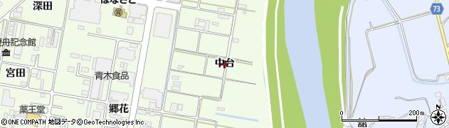 福島県郡山市富久山町久保田(中台)周辺の地図