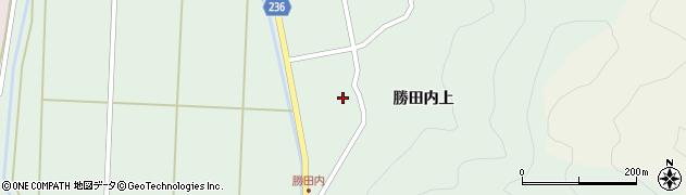 福島県郡山市湖南町福良(勝田内前)周辺の地図