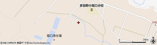 福島県郡山市逢瀬町多田野(一寸帰)周辺の地図