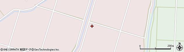 福島県郡山市湖南町赤津(百刈)周辺の地図