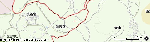 福島県郡山市白岩町(板小内)周辺の地図