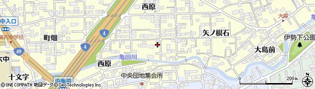 株式会社オクトセキュリティー福島営業所周辺の地図